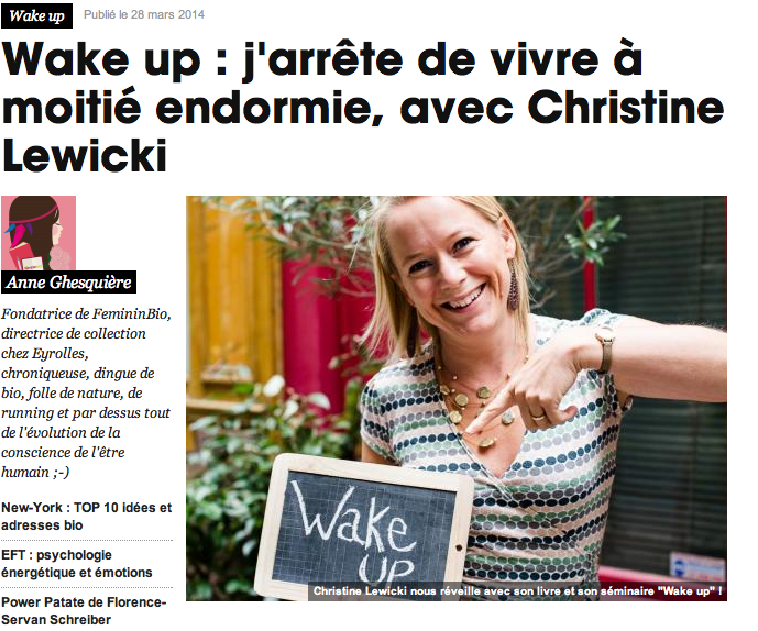 Wake-Up FemininBio