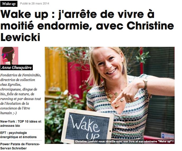 Wake-Up FemininBio