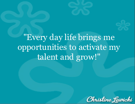 Activate talents