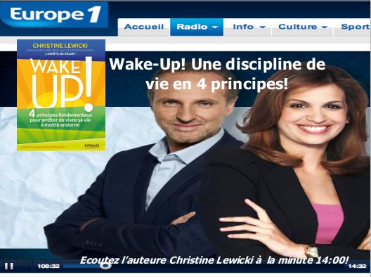 EUROPE 1 - Wake-Up!